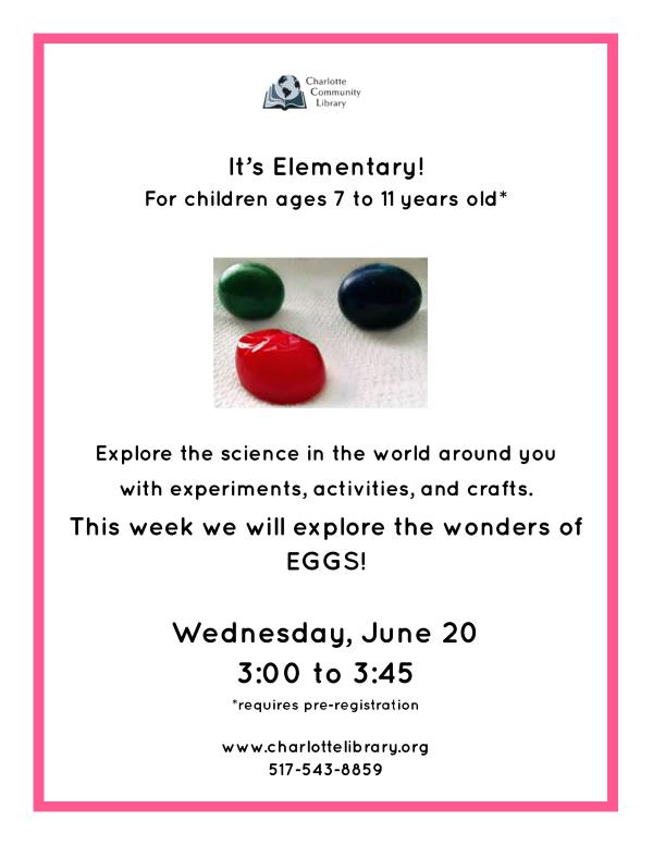 It's Elementary June 20