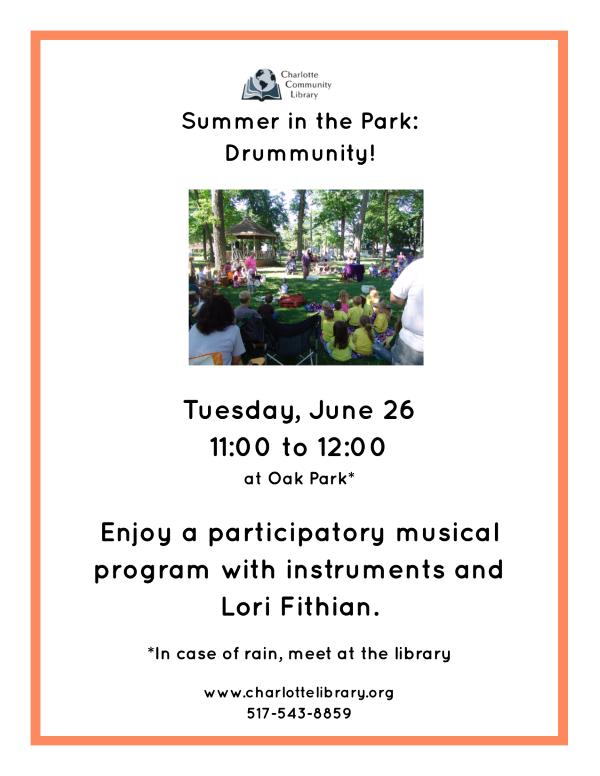 Drummunity June 26