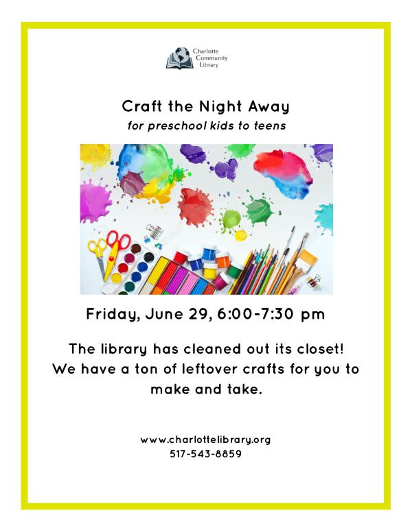 Craft The Night Away