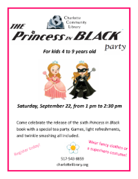 Princess in Black Party