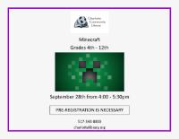 September Minecraft