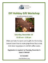 DIY Holiday Gift Workshop