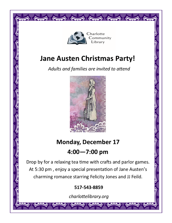 Jane Austen Christmas Party