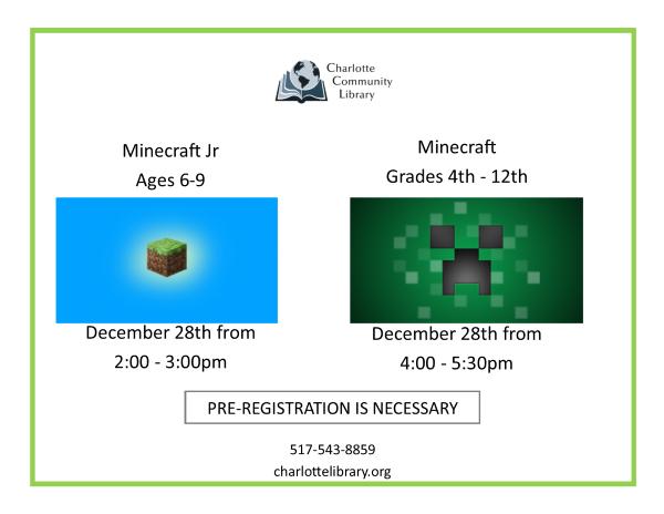 December Minecraft