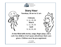 Session II Story Hour