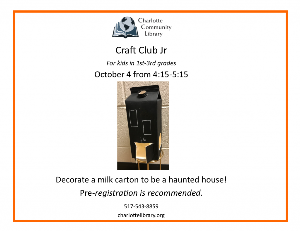 Craft Club Jr