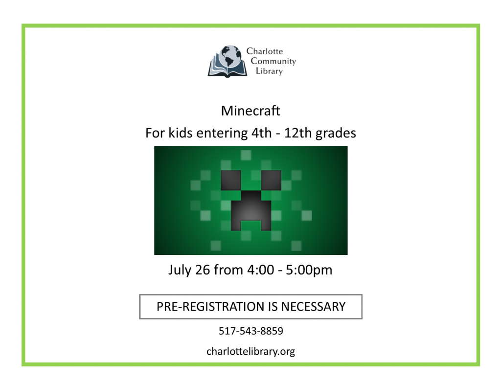 Minecraft | Grades 4th - 12th