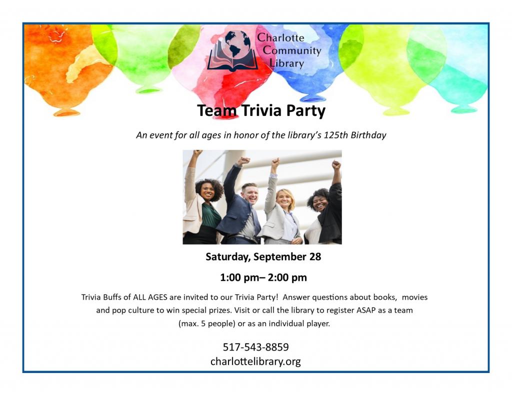 Team Trivia Party!