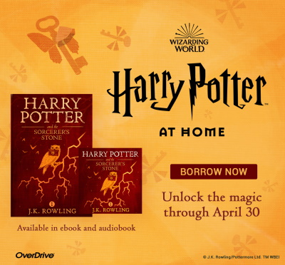 Download 1st Harry Potter book as ereader and audiobook.