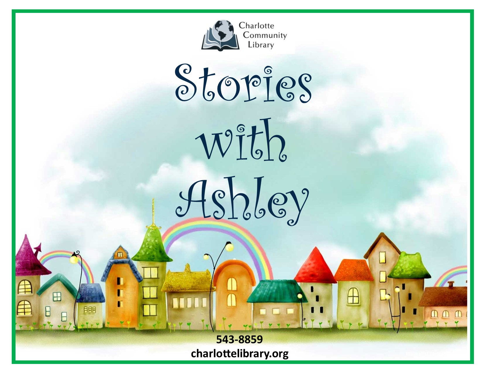 Facebook event Stories with Ashley Thursdays Noon