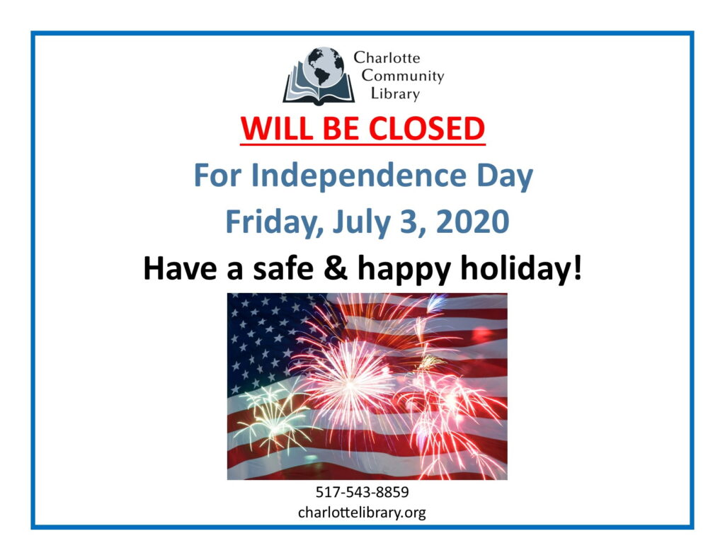 Independence Day-Library Closed