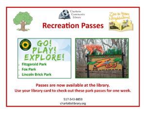 Potter Park Zoo Passes